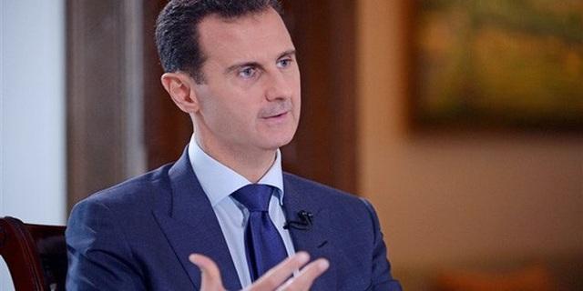 Ông Assad được cho là đã rời khỏi dinh tổng thống ở thủ đô Damascus cùng với các đơn vị quân đội Nga. Ảnh : NBC News