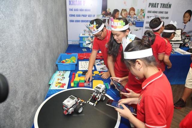 Ứng dụng phương pháp STEM vào mô hình robot giúp học sinh chơi mà học, học mà chơi