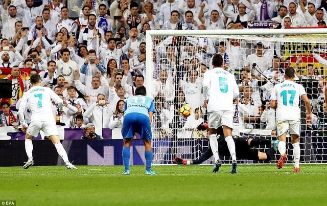 C.Ronaldo đang đạt phong độ rất cao ở cả La Liga lẫn Champions League