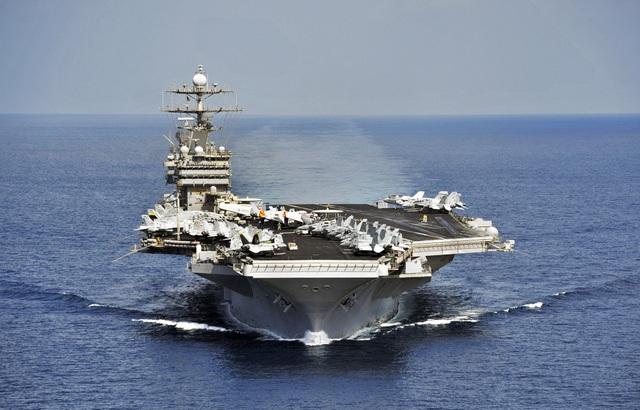 Tàu sân bay USS Harry S Truman của Hải quân Mỹ (Ảnh: Wikipedia)