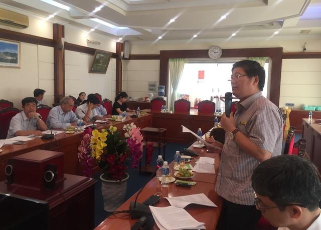 TS Trần Đình Lý, trường ĐH Nông Lâm TPHCM nêu ý kiến góp ý