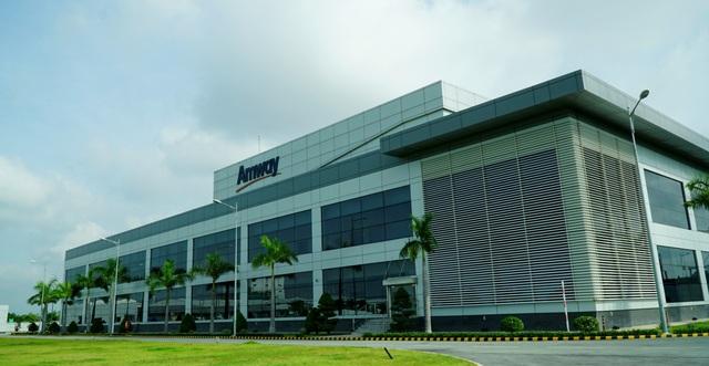 Nhà máy Amway tại Bình Dương