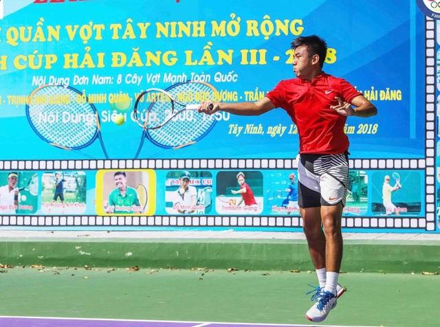 Lý Hoàng Nam và nhiều tay vợt mạnh sẽ tham dự giải quần vợt VTF Pro Tour Hải Đăng tại Tây Ninh