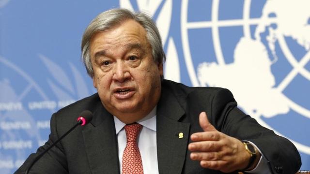 Tổng thư ký Liên Hợp Quốc Antonio Guterres (Ảnh: Reuters)