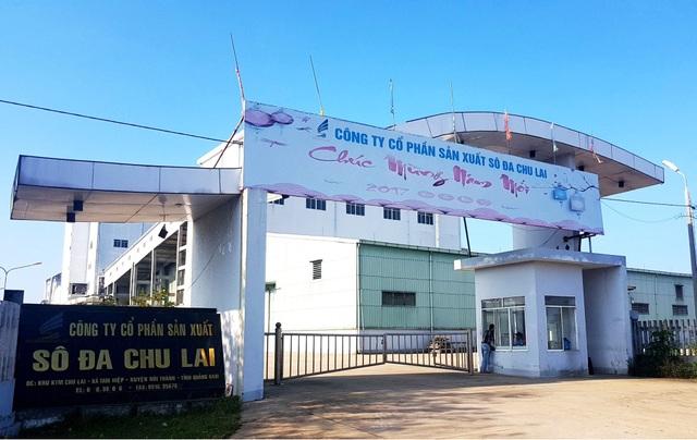 Nhà máy sô đa Chu Lai sẽ khôi phục để trả nợ?