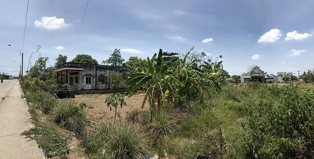 Mảnh đất và căn nhà của bà Bé nằm trong dự án KDC Mỹ Yên.