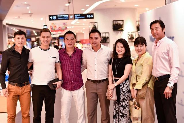 Ngoài Việt Anh, Lã Thanh Huyền, sự kiện còn team bóng đá: Huỳnh Đức, Minh Hiếu, Việt Thắng & Đức Thắng.