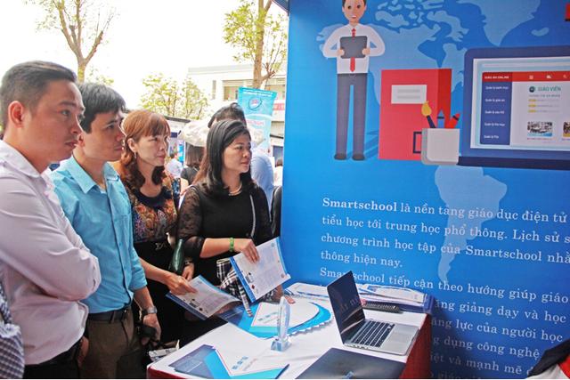 Phần mềm được giới thiệu tại Ngày hội CNTT lần thứ 4 của Hà Nội.