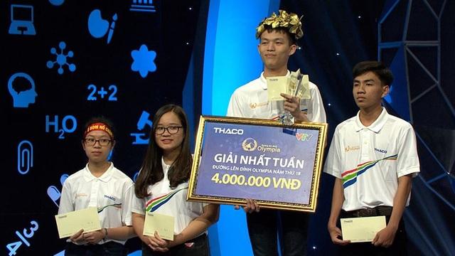 Đức Huy giành vòng nguyệt quế của cuộc thi này.