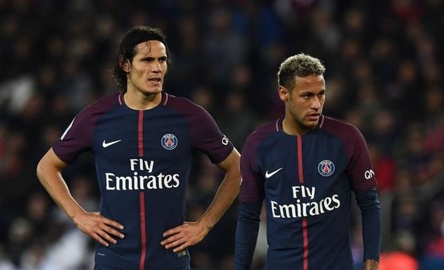 Neymar thừa nhận có mâu thuẫn với Cavani