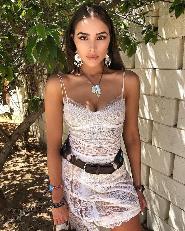 Cựu hoa hậu hoàn vũ Olivia Culpo dự tiệc thời trang diễn ra tại California, Mỹ ngày 15/4 vừa qua
