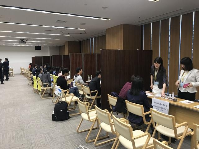 17 doanh nghiệp Nhật Bản giao lưu với du học sinh Việt vùng Kyushu - 5