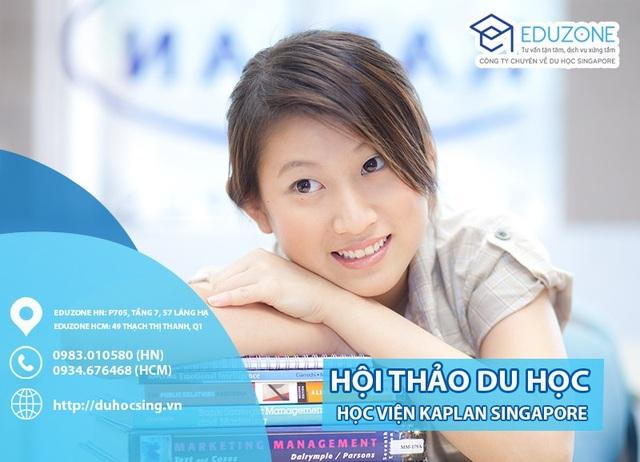 """Hội thảo """"Du học Singapore sớm cho học sinh hết lớp 9, nhận bằng cử nhân sau 2.5 năm"""" - 1"""