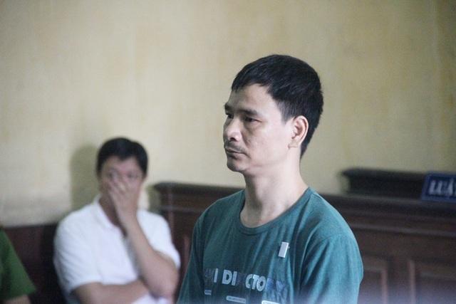 Bị cáo Lũy tại phiên tòa.