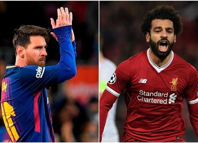 Salah vượt qua Messi trong cuộc đua Chiếc giày vàng châu Âu