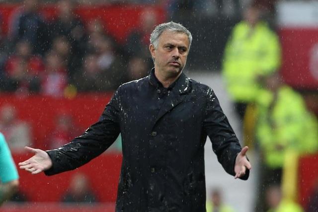 Sự thất vọng của Mourinho khi các học trò bị dẫn bàn