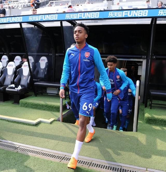Wilock, tài năng trẻ mới được ra lò của Arsenal đã có trận ra mắt Premier League