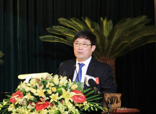 Ông Đào Trọng Quy, nguyên Chủ tịch UBND thành phố Thanh Hóa (nay là Giám đốc Sở TN&MT Thanh Hóa)