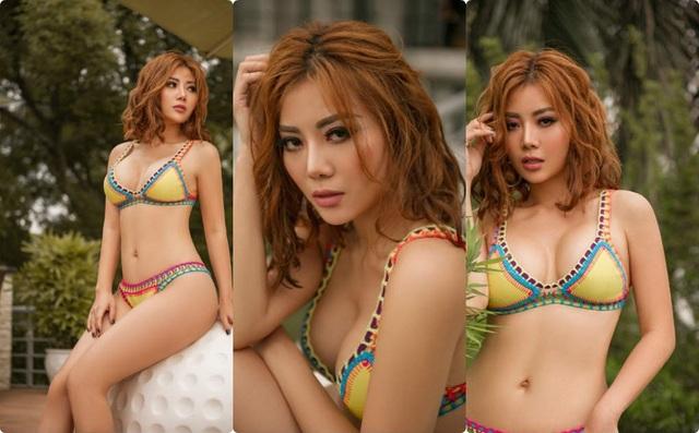 Mới đây, diễn viên Thanh Hương thu hút sự chú ý của cộng đồng khi tung ra loạt hình ảnh tạo dáng nóng bỏng khi mặc trang phục bikini có màu sắc rực rỡ.