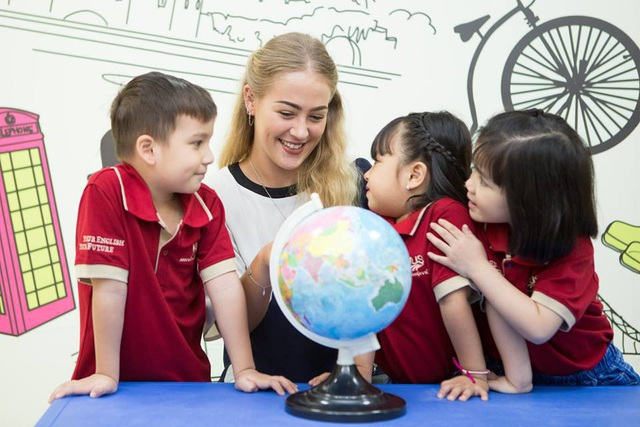 VUS Kids Trần Não là sự lựa chọn tốt cho các ba mẹ đang tìm môi trường học tiếng Anh cho các bé độ tuổi mẫu giáo.