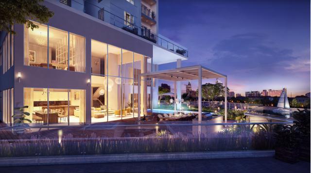 Pool Villa với chiều cao trần ấn tượng đã tạo nên một không gian vô cùng thoáng đạt cho gia chủ