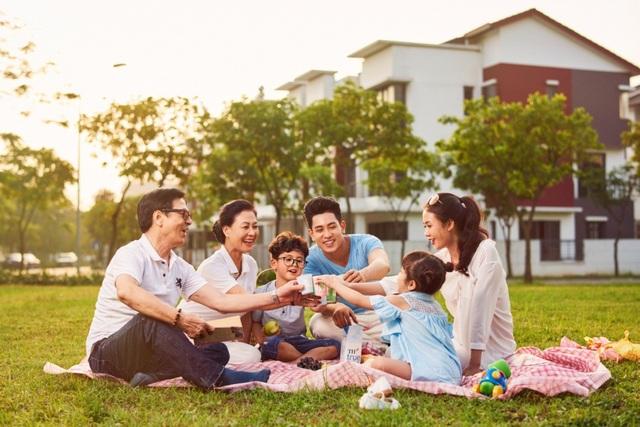 """""""Trải nghiệm xanh tại Dahlia Homes"""" sẽ mang đến cho bạn và gia đình cảm nhận chân thực nhất về cuộc sống tại KĐT Gamuda Gardens"""