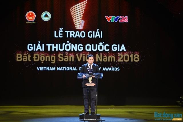 Phó Thủ tướng Chính phủ Trịnh Đình Dũng đánh giá cao kế hoạch tổ chức Giải thưởng Quốc gia Bất động sản Việt Nam