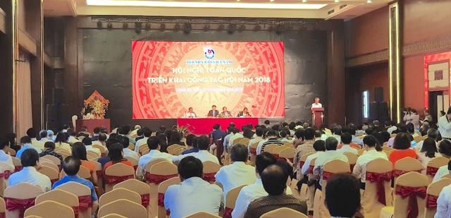 Hội nghị toàn quốc triển khai công tác Hội của Hội nhà báo Việt Nam năm 2018 có hơn 600 đại biểu tham dự.