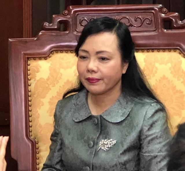 Bộ trưởng Bộ Y tế Nguyễn Thị Kim Tiến.