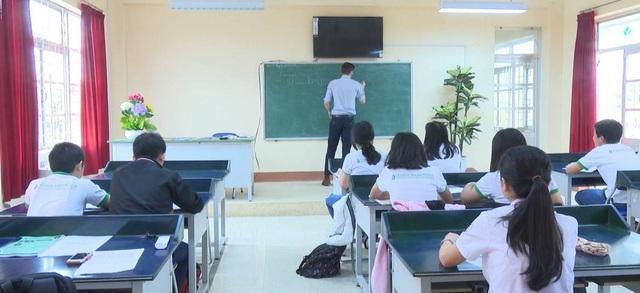 Lớp học GWIS tại trường THCS Hùng Vương (TP. Tuy Hòa)