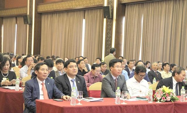 Các đại biểu tham dự Hội nghị toàn quốc triển khai công tác Hội của Hội Nhà báo Việt Nam năm 2018.