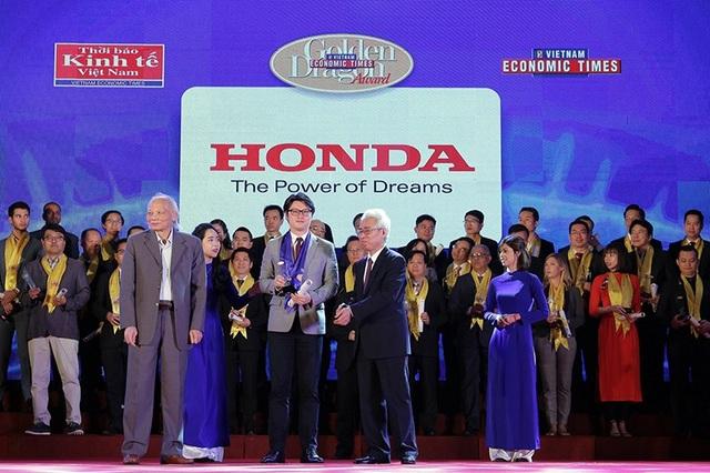 Honda Việt Nam được vinh danh với giải thưởng Rồng Vàng - 1