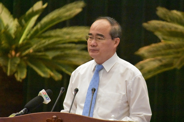 Bí thư Thành ủy TPHCM Nguyễn Thiện Nhân yêu cầu tháng 6 phải hoàn thành bảng xếp hạng đánh giá chung cư an toàn