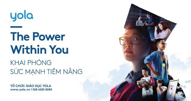 """YOLA: """"The power within you - Khai phóng sức mạnh tiềm năng"""" - 1"""