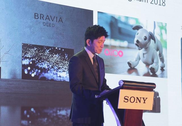 Đại diện Sony Việt Nam giới thiệu về loạt sản phẩm TV mới