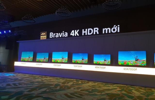 Loạt Bravia 4K mới