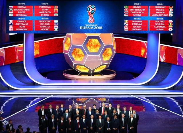 Số tiền để mua bản quyền truyền hình World Cup 2018 hứa hẹn rất cao