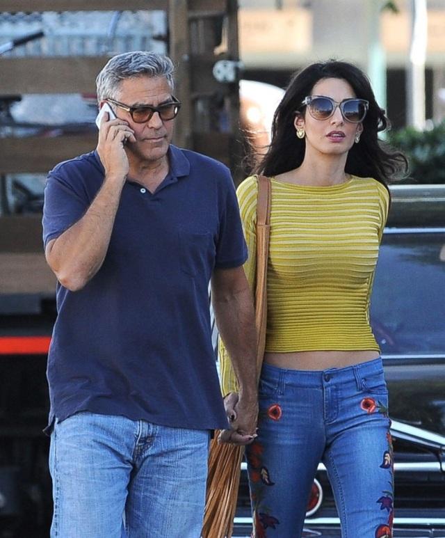 George Clooney và vợ - Amal Clooney