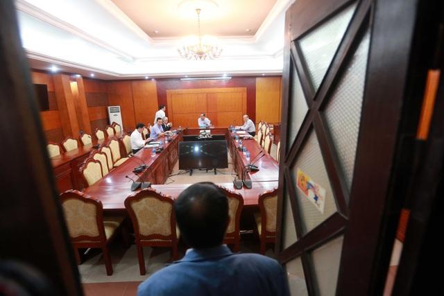 Cuộc họp giữa Bộ VH,TT&DL với VFF được tổ chức kín, giới truyền thông không được tham dự - Ảnh: Gia Hưng