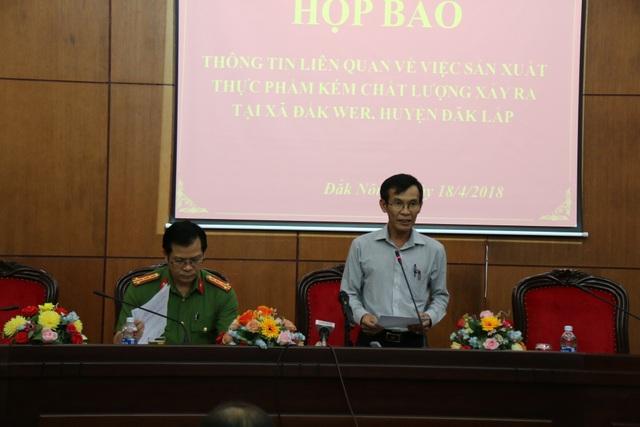 Ông Lộc cho biết, sẽ tổ chức họp báo khi kết luận điều tra hoặc tình tiết quan trọng.
