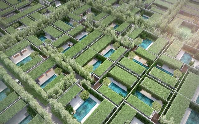 Wyndham Garden sở hữu kiến trúc Private villas theo xu hướng Go Green hút du khách, mang về lợi tức trên 9%/năm.