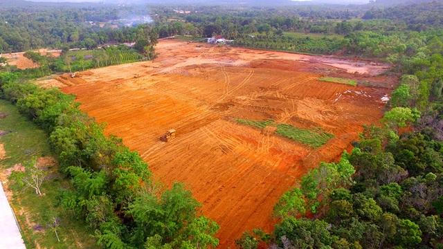 San lấp, phân lô, xây dựng không phép, sai phép...đang băm nát đảo ngọc Phú Quốc.