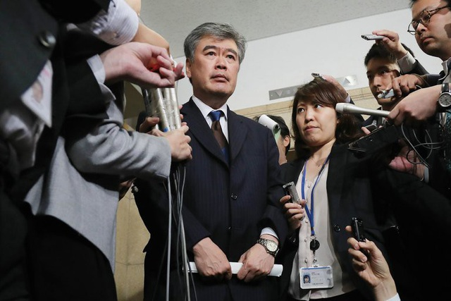 Ông Junichi Fukuda (Ảnh: Getty)
