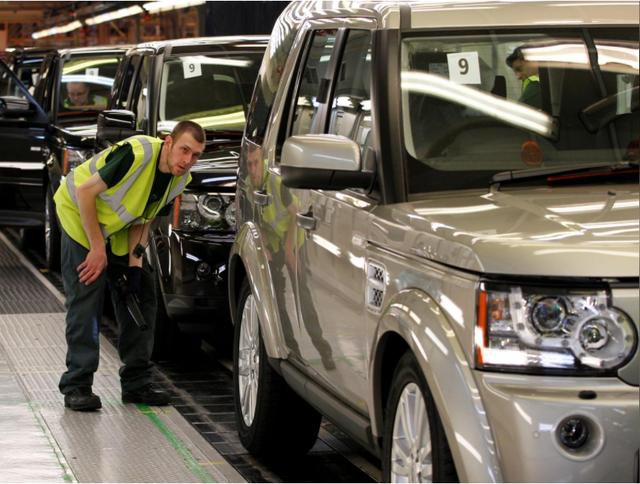 Jaguar Land Rover đang đóng góp gần 1/3 sản lượng 1,7 triệu xe hàng năm của Anh