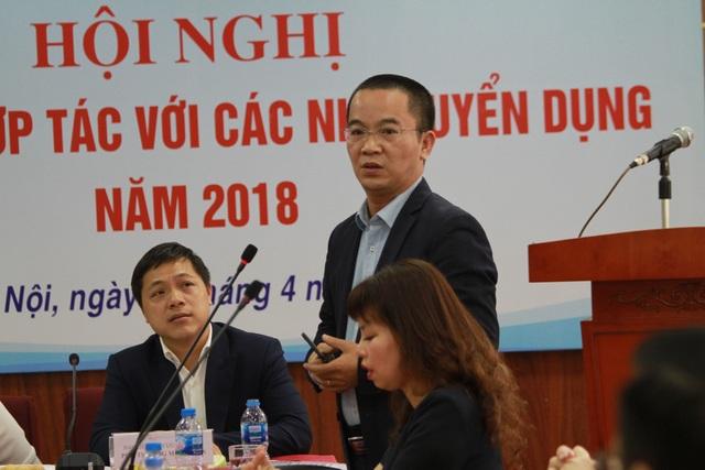 Ông Nguyễn Thế Truyền, Giám đốc công ty Luật Thiên Thanh chia sẻ thực tế mỏi mắt không tìm được nhân sự luật làm được việc.