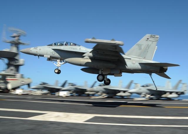 Máy bay EA-18G Growler của Mỹ (Ảnh: US Navy)