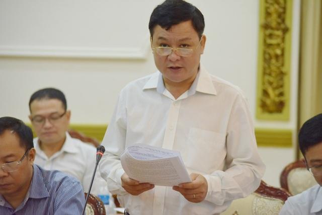 Ông Nguyễn Hoàng Anh Dũng – Phó Giám đốc Trung tâm Điều hành chương trình chống ngập nước TPHCM