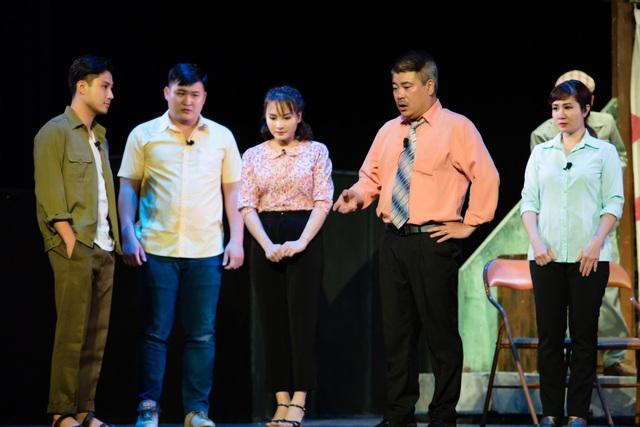 Bảo Thanh bất ngờ đóng kịch do NSƯT Chí Trung dàn dựng - 8