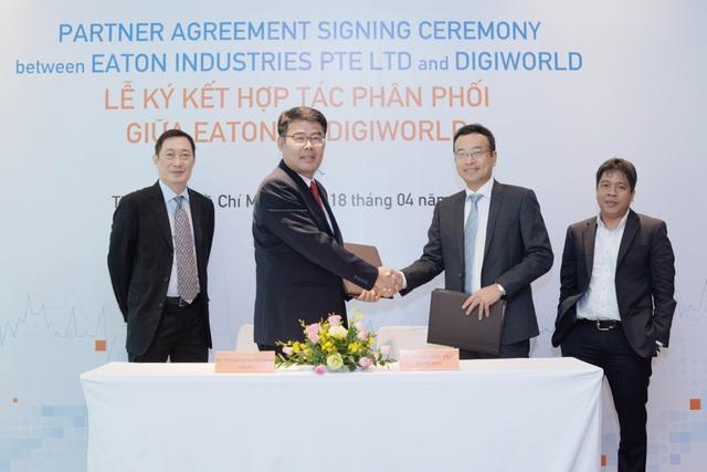 Tập đoàn Quản lý Năng lượng Eaton chính thức ký kết hợp tác phân phối với Digiworld