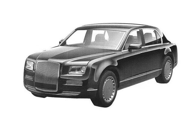 Thiết kế một mẫu xe thuộc dự án Kortezh của Nga (Ảnh: Sputnik)